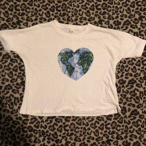 BOXY MADEWELL EARTH DAY T-SHIRT SMALL